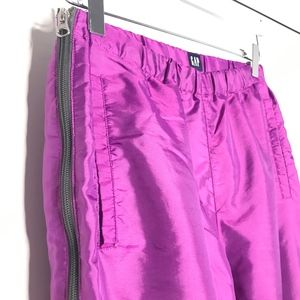 GAP Pants - Gap Purple Windbreaker Jogger Track Pants A100551